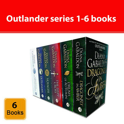 Outlander Series 6 Books Collection Set by Diana Gabaldon 1-6 Book NEW Pack