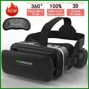 360° VR Headset Goggles 3D Glasses Virtual Reality Headset for Mobile Phone UK