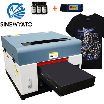Dtg Printer Direct To Garment Printer T-shirt Personal Diy A3 Flatbed Printer