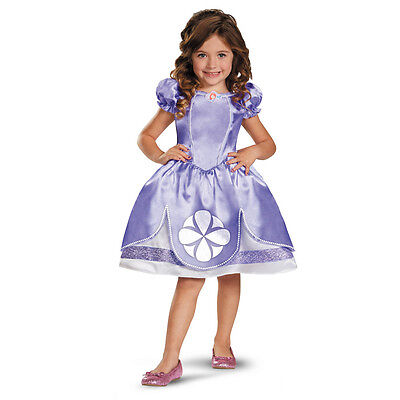 Disney Sofia The First Licensed Toddler/Child Princess Costume