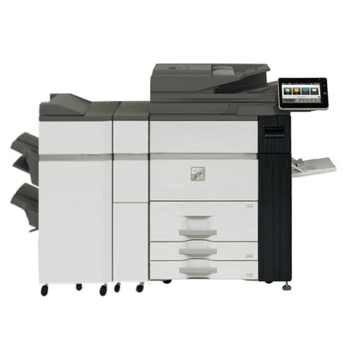 Sharp Mx-m905 Mono Laser Production Printer Copier Scanner Finisher 90 Ppm M1205