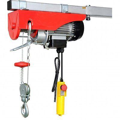 Scaffold Winch Electric Workshop Garage Gantry Hoist 250kg Lifting 240V 230V NEW