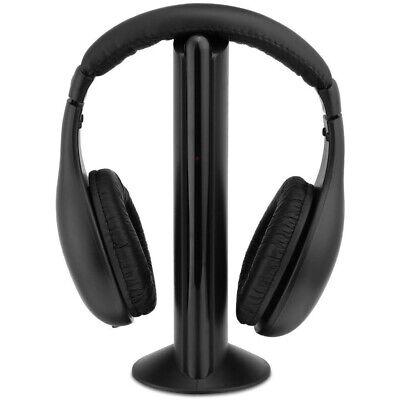 Cuffie Stero Wireless Senza Fili Cuffia Stereo Per Pc Game Player DVD TV MP3