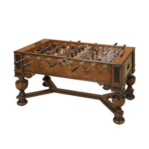 Maitland-Smith 8106-31 Napoleon Brown & Antique Aubergine Foosball Table NEW