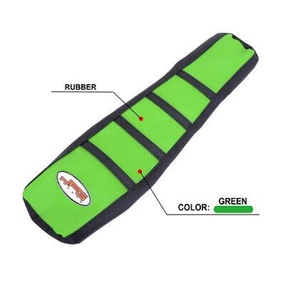 Green Gripper Soft Seat Cover Skin For Kawasaki KX65 KLX110 2000-2017 2016 2015 (Kawasaki Seat Cover)