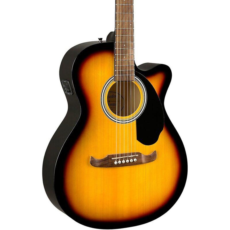 Fender FA-135CE Concert Acoustic-Electric Guitar Sunburst