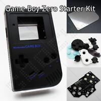 Nero Gameboy Zero Kit Dmg-01 Controller Di Shell Scheda Pcb Vetro Schermo & - shell - ebay.it
