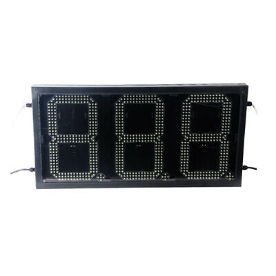 81012 Led Gas Station Electronic Fuel Price Sign 888 Wireless Remote