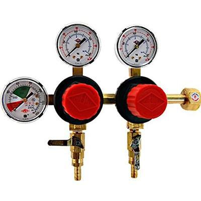 T752hp Beer Brewing Two Product Dual Pressure Kegerator Co2 Regulator