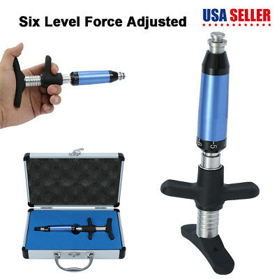 Portable 6 Levels Chiropractic Instrument Spine Activator Back Adjusting Tool