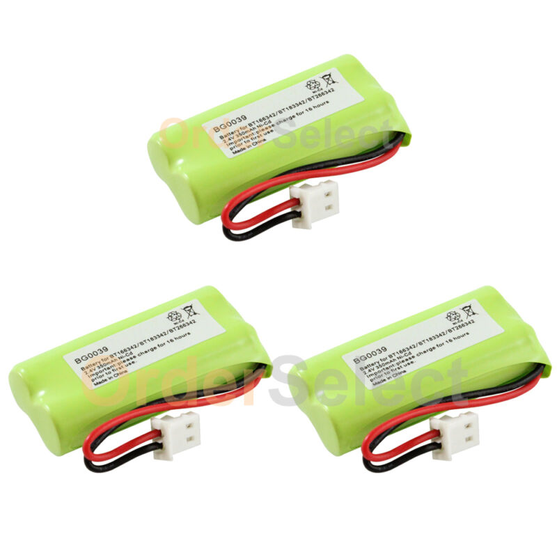 3x NEW Home Phone Battery for VTech BT166342 BT266342 BT183342 BT283342 100+SOLD