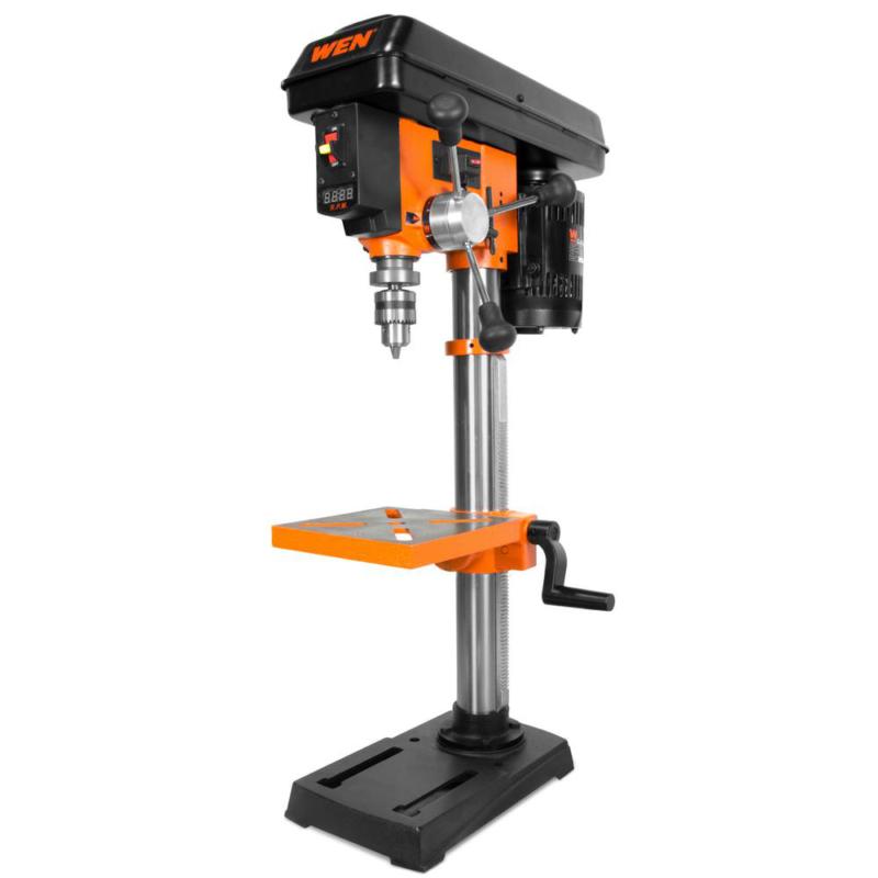 10 in. Variable Speed Drill Press Wen Laser 10-inch Tool Ben