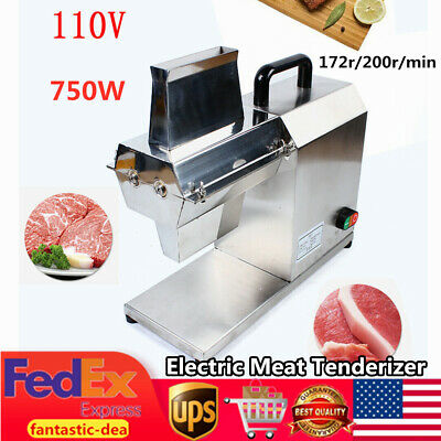 Commercial Meat Tenderizer Electric Tenderizer For Beef Fillet Beefsteak 750w Us