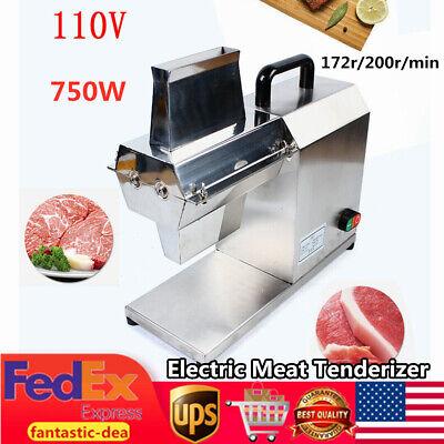Commercial Electric Meat Tenderizer Cuber For Beef Fillet Beefsteak 750w 110v Us