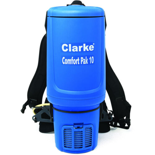Clarke Comfort Pak 10 Quart Commercial Back Pack Vacuum with Tool Kit