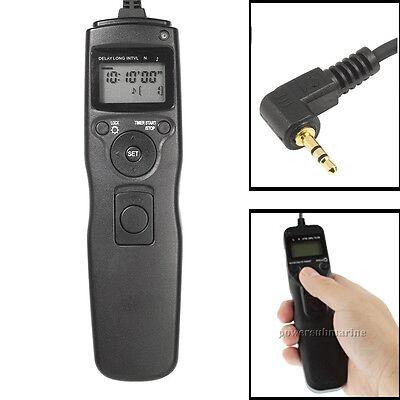 Time lapse intervalometer remote timer shutter for Canon DSLR 650D 600D Camera