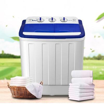 ZOKOP Portable Mini Compact Twin Tub 16lb Washing Machine Wa