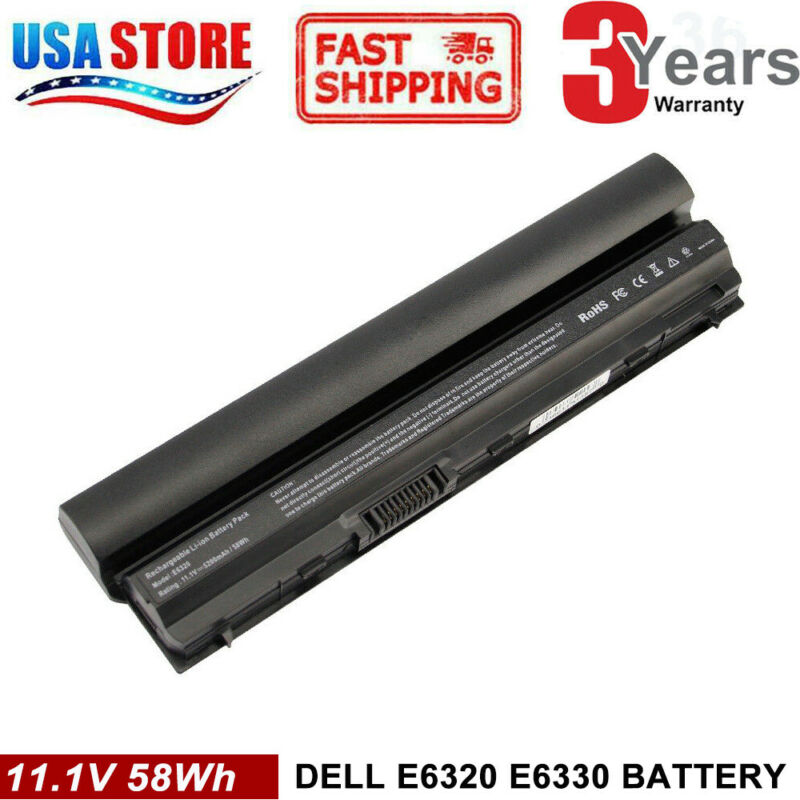 Battery RFJMW FRROG for Dell Latitude E6320 E6220 E6120 E6230 E6330 E6430s