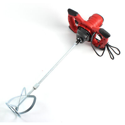 110-220v Electric Mixer Variable Speed For Concrete Cement Plaster Paint Thinset