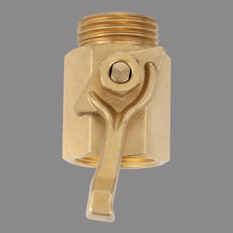"3/4"" Brass Water Shut Off Ball Valve Garden Hose Industrial Connector for Garden"