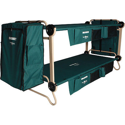 Disc-O-Bed CamOBunk Xlarge 2 organizers 2 Cabinets 2 Outdoor Accessorie NEW