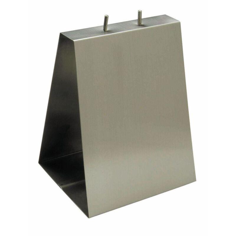 """HUBERT Deli Bag Holder Stainless Steel - 9""""L x 6""""D x 11 1/2""""H"""