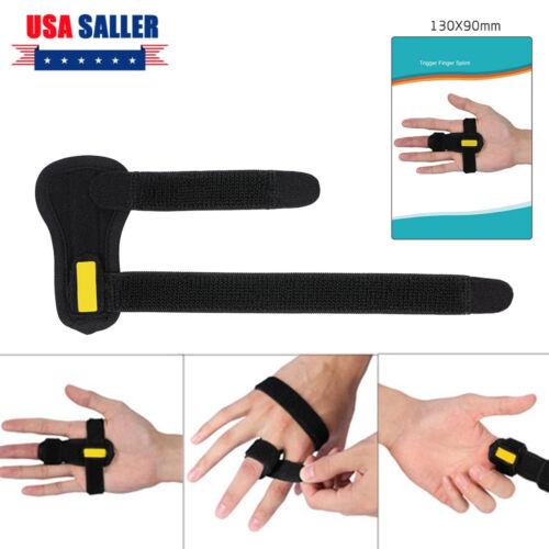 Relief Trigger Finger Splint Brace Straightening Curved Lock