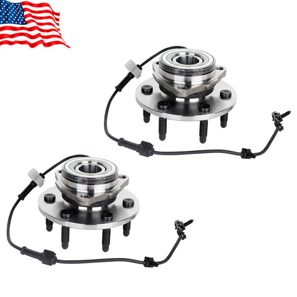 Front Wheel Bearing Hubs For Chevy Silverado 1500 Tahoe