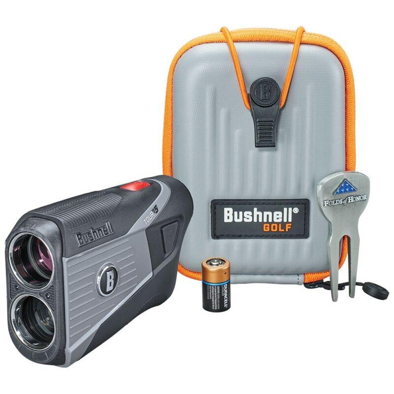 Bushnell Tour V5 Patriot Pack Laser Golf Rangefinder - New 2021