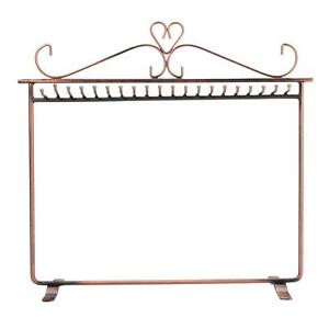 New Delicate Necklace Jewelry Display Stand Rack Holder Bronze T-011