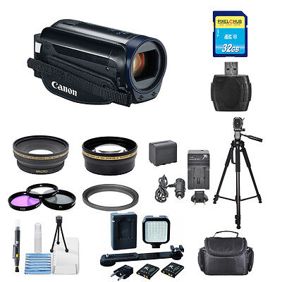 Canon Vixia Hf R600 Full Hd Camcorder (black) Pro Bundle ...