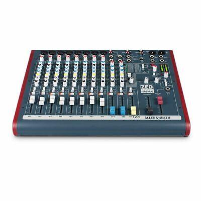 Allen & Heath ZED60-14FX Live PA Mixer w/ FX Effects & 60mm Faders Mint in box