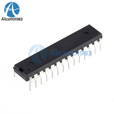 2pcs Atmega328p-pu Microcontroller With Arduino Uno R3 Bootloader