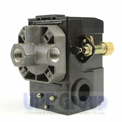 034-0094 SANBORN PRESSURE SWITCH 95 - 125 PSI  FOUR PORT UNLOADER VALVE