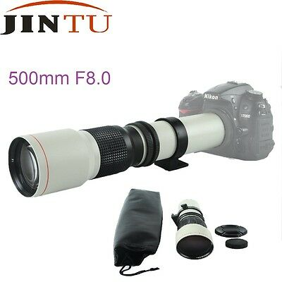 500mm F8.0 Telephoto Photography Camera Manual Lens for Canon Digital DSLR