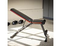 *BRAND NEW* Adjustable Weight Bench for Full Body Workout Bench Foldable Flat Bench for Home Gym