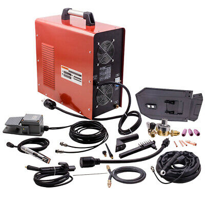 Aluminum 200a Igbt Square Wave Acdc Tigstick Inverter Welder Kit 110230v