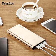 EasyAcc 15000mAh 4.8A 3 Port Power Bank Portable Battery for Samsung iPhone