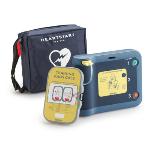 Philips Heartstart FRx Home AED Trainer 861306 M5085A TRAINER with Pads