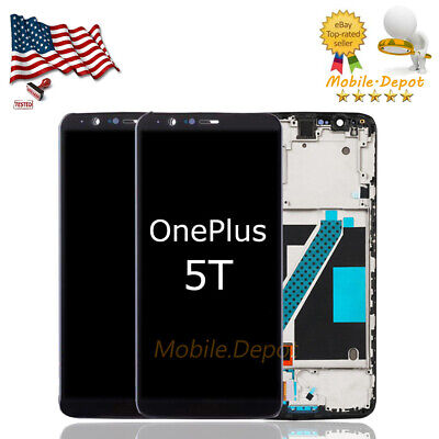For ONEPLUS 5T A5010 6'' LCD Touch Screen Replacement Digitizer Assembly+Frame