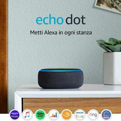 Amazon Echo Dot 3ª gen - Altoparlante intelligente con integrazione Alexa - Nero