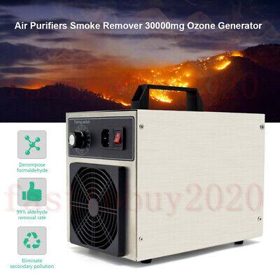 30000mg Ozone Generator Room Air Purifier Smoke Remover Home Ionizer Ozonator