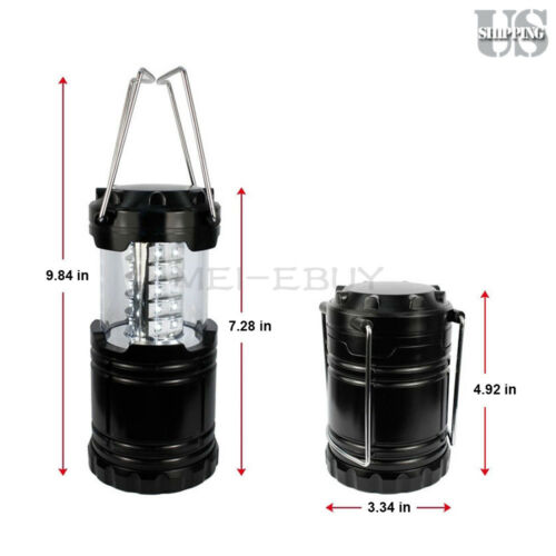 3 Ultra-Bright Portable 30 LED Collapsible C&ing Lantern Night Light Tent L&  sc 1 st  eBay & 3 Ultra-Bright Portable 30 LED Collapsible Camping Lantern Night ...