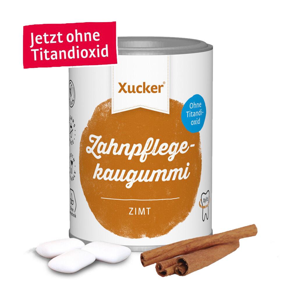 Xylit Zahnpflege Kaugummi von Xucker - 100g Xummi Zimt 67 Stk. ohne Titandioxid