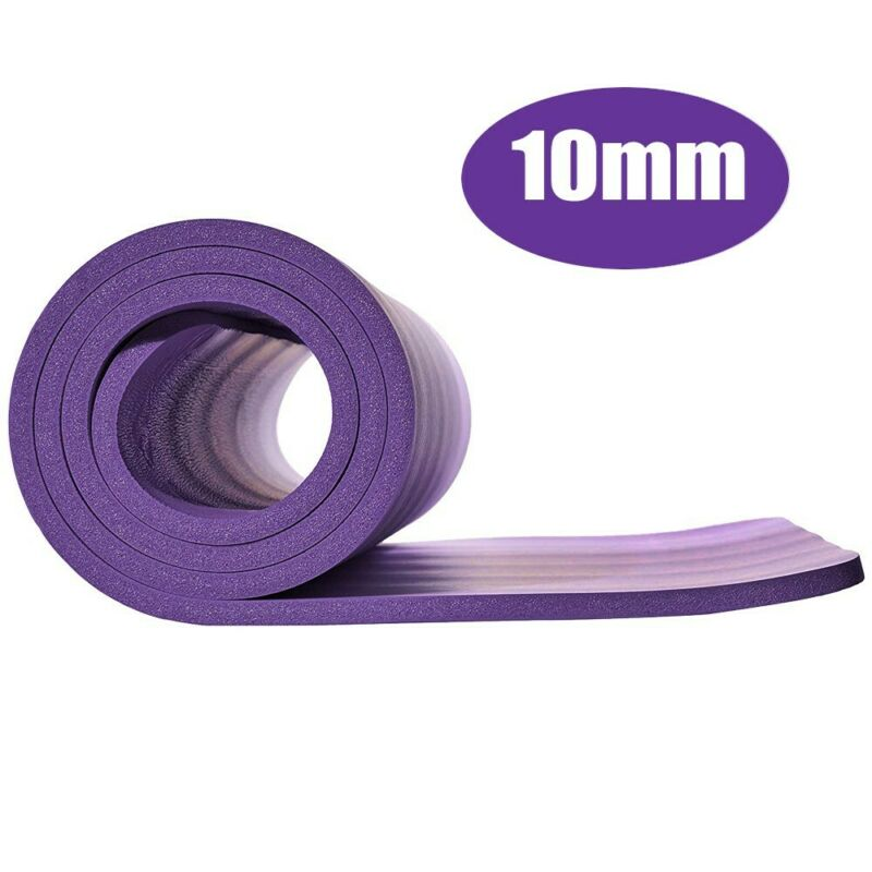 4/10MM Non-slip Durable Exercise Gym Extra Mats Pad