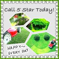5star professional Lawn Care & Snow Removal Services