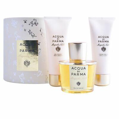 Acqua Di Parma MAGNOLIA NOBILE Gift Set 3 PC (Acqua Di Parma Magnolia Nobile Gift Set)