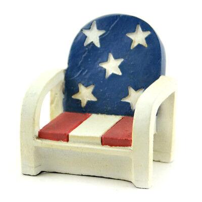 My Fairy Gardens Mini - Patriotic Chair - Supplies