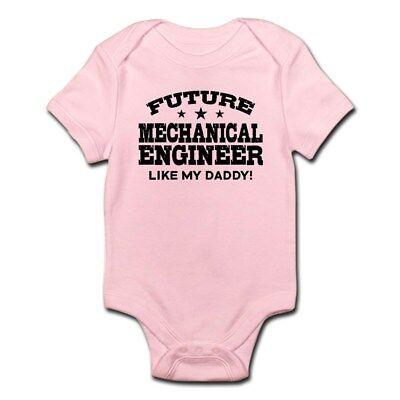 CafePress Future Mechanical Engineer Infant Bodysuit Baby Bo
