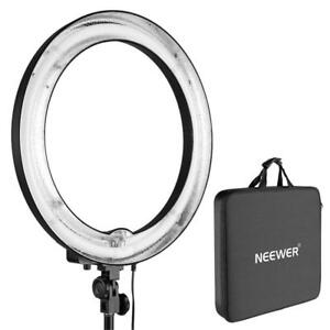 NEW Neewer 18 inches Dimmable Camera Photo/Video 75W(Equivalent to 600W) Fluorescent Light Only for Photo Studio Port...